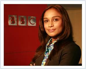 bbc world news india business report presenter cantik