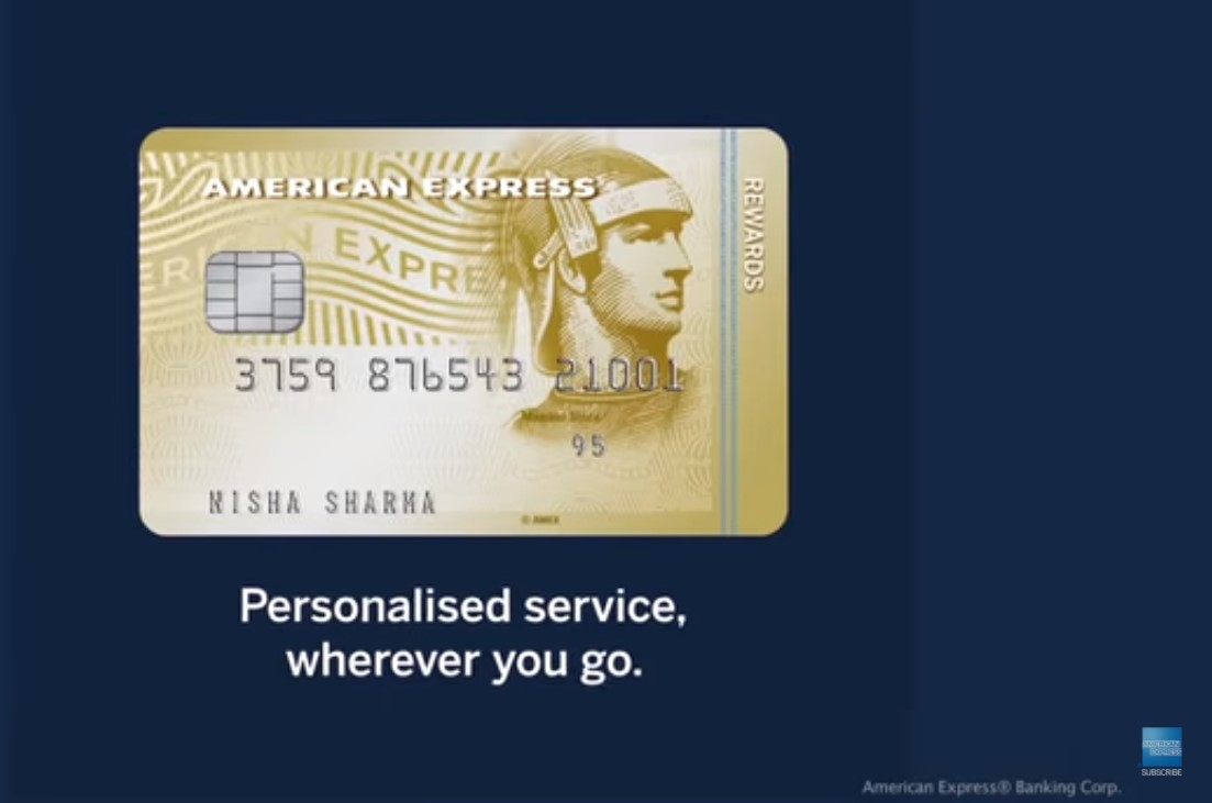 American Express launched its first through-the-line