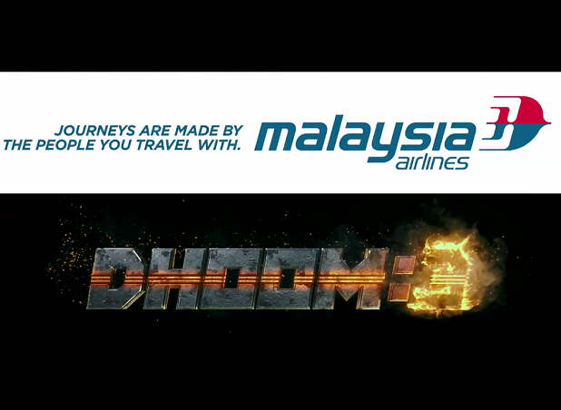 Malaysia Airlines partners with Dhoom:3