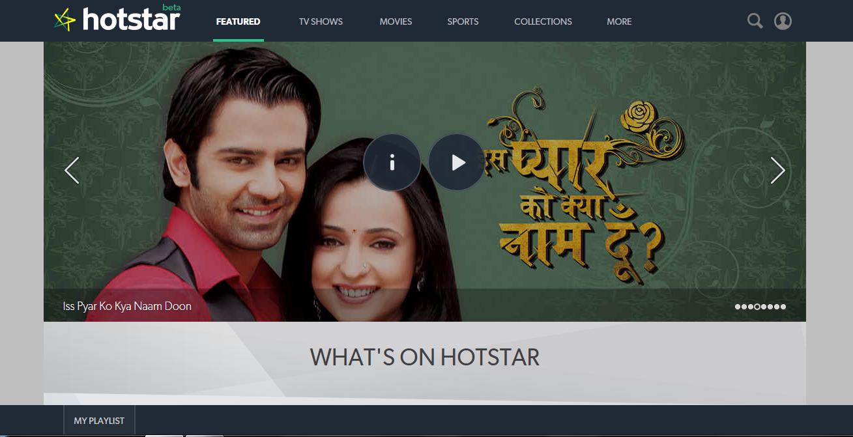 hotstar online
