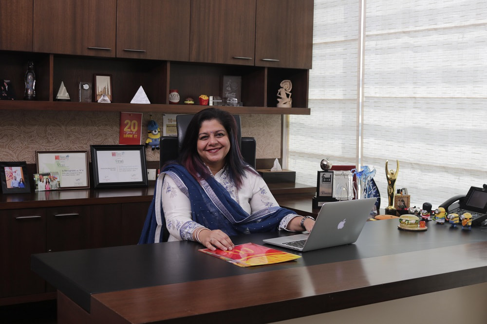 Seema Arora Nambiar, Sr. Vice President, Marketing and People Resources, HRPL