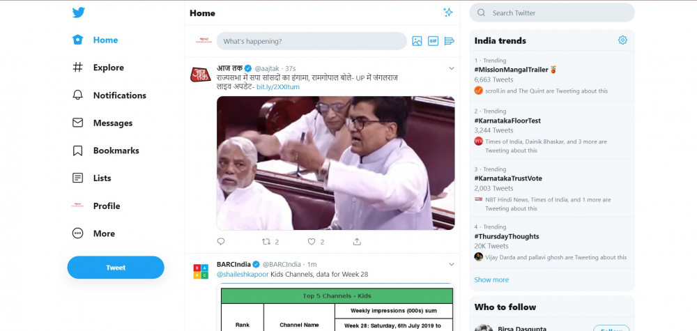 With promise of easy Tweeting, Twitter revamps Desktop interface