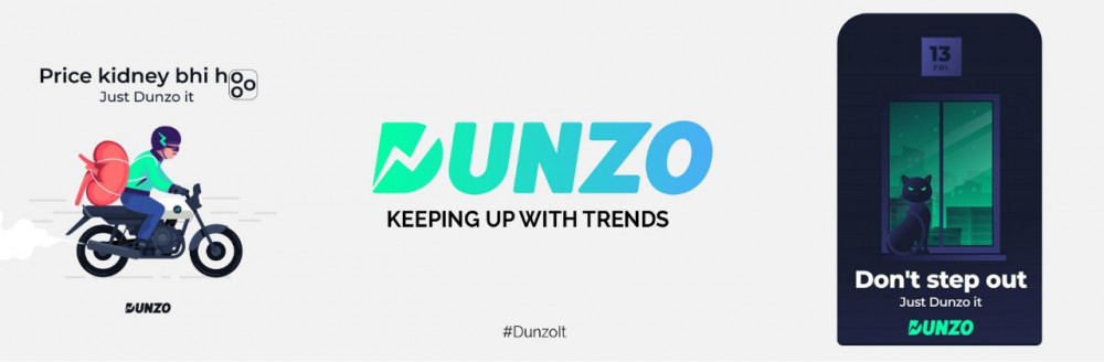 Dunzo keeping up with trends