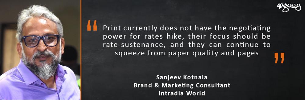 Sanjeev Kotnala, Brand and Marketing Consultant, Intradia World