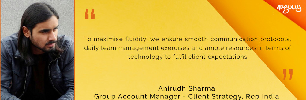 Anirudh Sharma, Group Account Manager - Client Strategy, Rep India