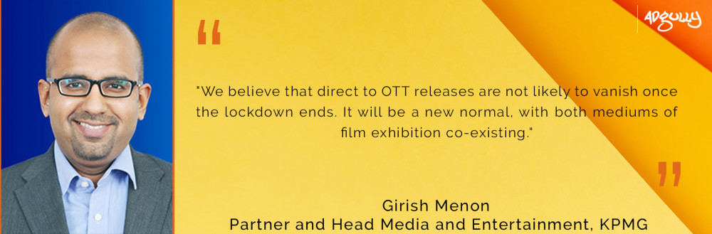 Girish Menon, Partner and Head Media and Entertainment, KPMG