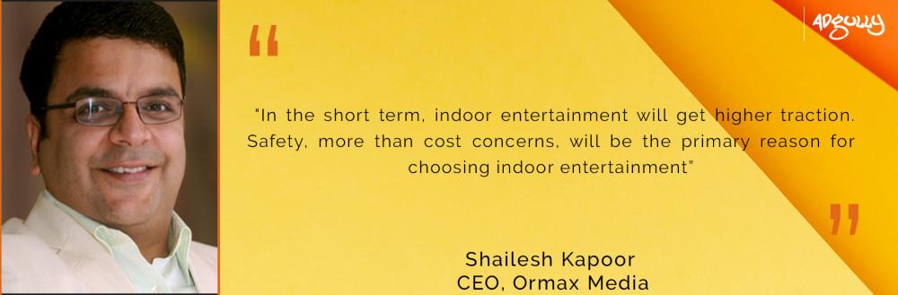 Shailesh Kapoor, CEO, Ormax Media