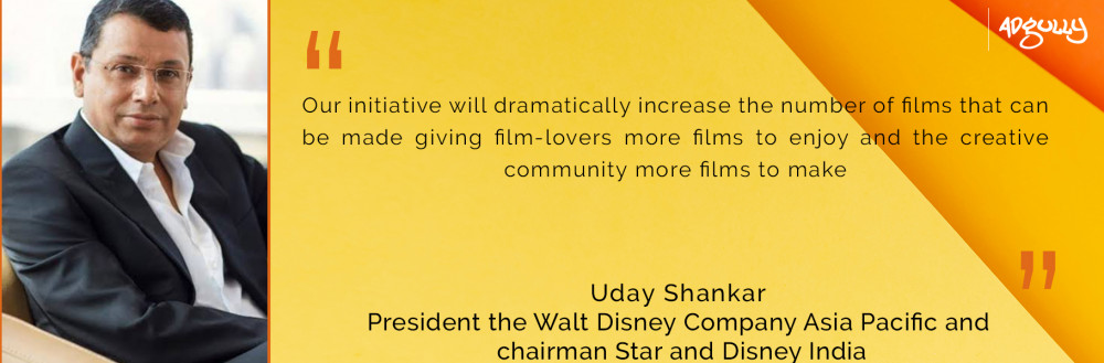 Uday Shankar, President, The Walt Disney Company Asia Pacific and Chairman, Star and Disney India