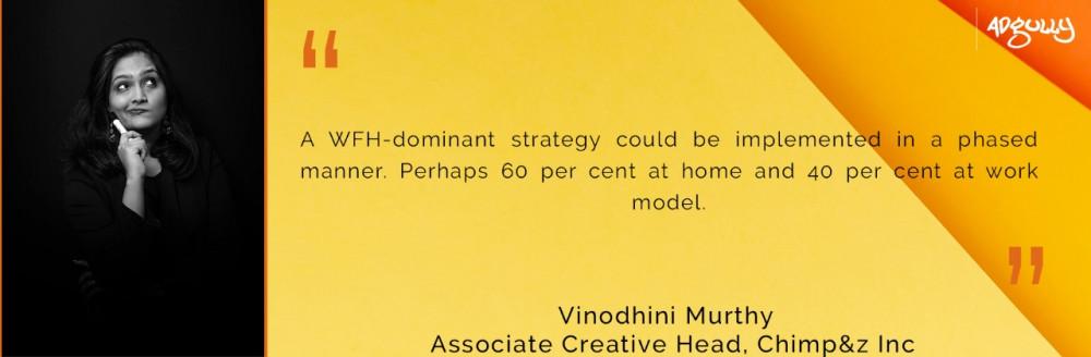 Associate Creative Head Vinodhini Murthy