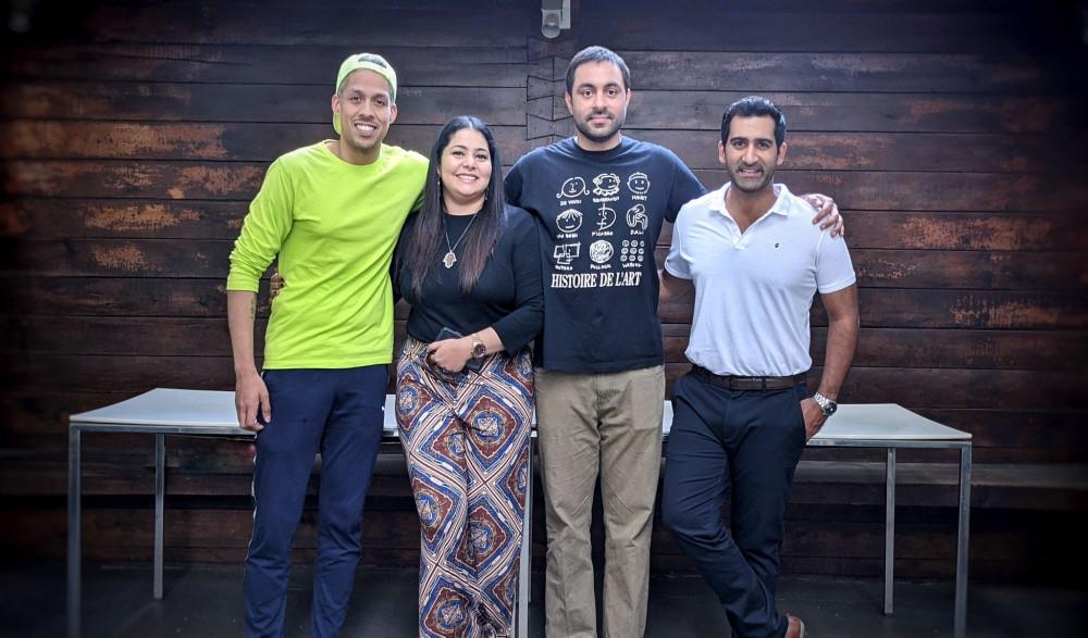 _L-R) Chinmaya Sharma, Eva Pavithran, Suveer Bajaj & Suhail Chandhok