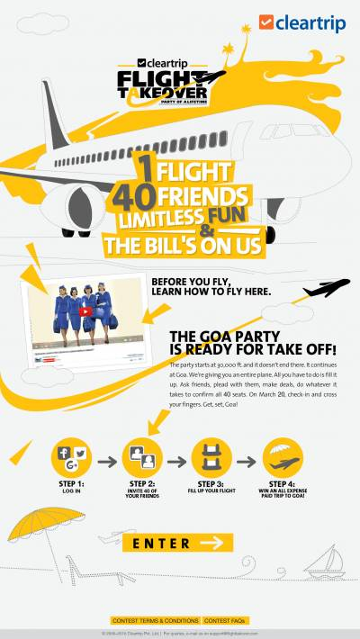 Cleartrip's latest off-beat campaign lets you be in the pilot seat