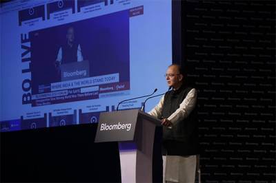 Arun Jaitley, India's Finance Minister and Minister of Corporate Affairs