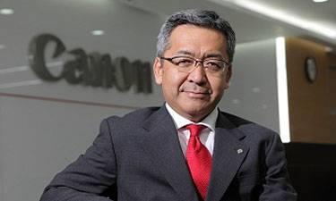 Mr. Kazutada Kobayashi, President and CEO, Canon India
