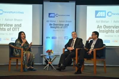L-R Megha Tata, Ashish Bhasin, Ajit Mohan