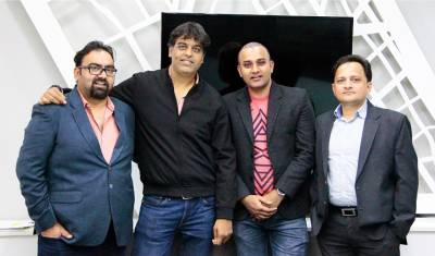 (L-R) Bhavdeep Sharma, Ashish Chandra, Syed Adnan Murtaza and Vivek Katoch