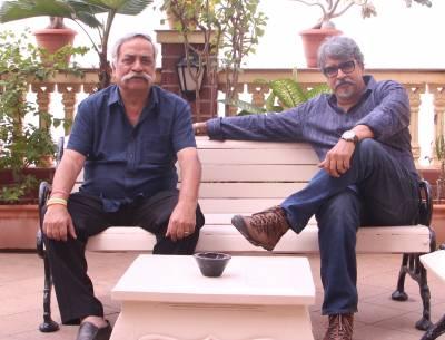 (L-R)Piyush Pandey and Prasoon Pandey