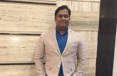 Young Business Leader 2018 awardee Founder Director, Haresh Motirale