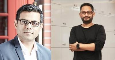 (L To R Dheeraj Sinha and Rajdeepak Das)