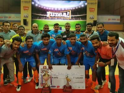 Club FM 104 8 hosts Kerala's first Futsal National Championship