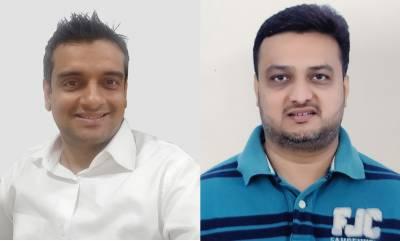 L: Mitul Sangani, R: Amit Vichare