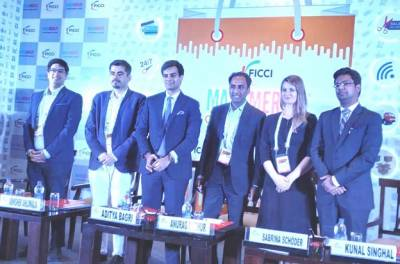Mr.Abhishek Ahluwalia, Head – eCommerce, India - Mondelēz International; Mr. Aditya Bagri, CEO – Bagrrys; Mr. Anurag Mathur, Partner & Leader,  Retail & Consumer, PwC;  Ms. Sabrina Schöder, Managing Director & Partner - Happy Thinking People As
