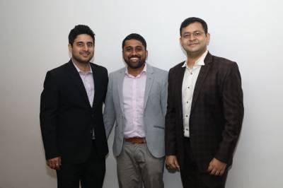 L to R: Ankit Tomar, Sachin Agarwal, Aniket Deb