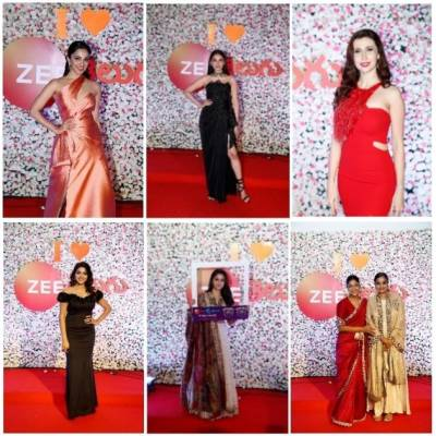 Best of Tollywood walk the red carpet at Zee Cine Awards