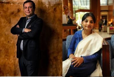 L-R: Amit Goenka, Archana Anand