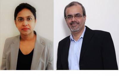 L-R: Geeta Lobo, Amit Adarkar