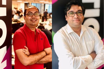 L-R: Rahul Vaz, Vinay Patodia