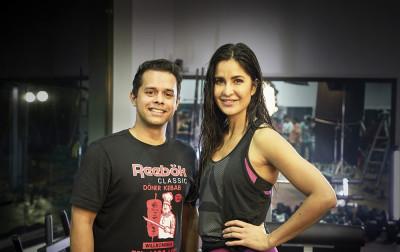 L-R: Sunil Gupta, Katrina Kaif