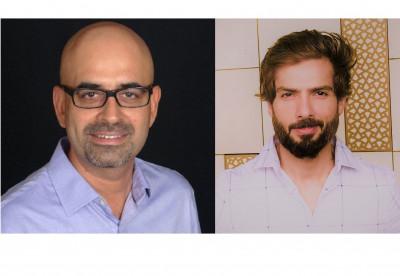 L-R: Vikram Bahl, Niraj Ruparel