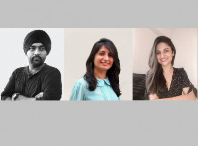 L-R: Maninder Bali, Sarina Baretto, Ashima Mehra