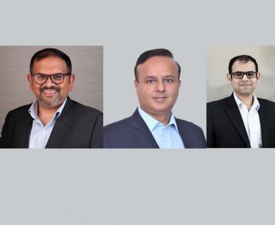 L-R: Jaideep Kumar, Sumit Punchi, Puru Govind