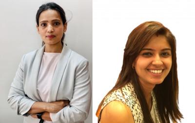 L-R: Sneha Gupta, Pooja Bhate