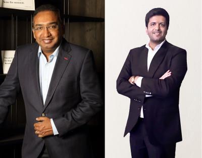 L-R: Sameer Nair, Aditya Pittie