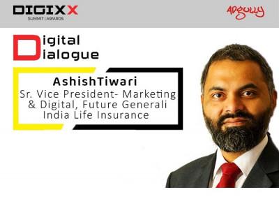 Ashish Tiwari, Senior VP – Marketing & Digital, Future Generali India Life Insurance