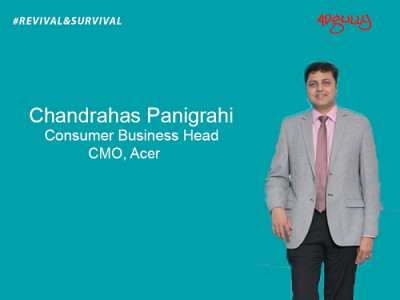 Chandrahas Panigrahi, CMO and Consumer Business Head, Acer India