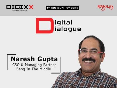 Naresh Gupta, CSO and Managing Partner, Bang in the Middle