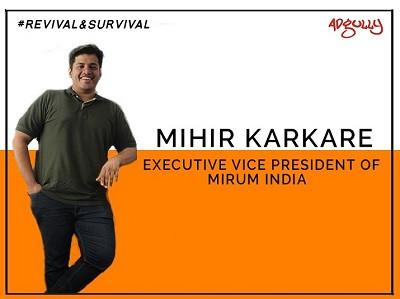 Mihir Karkare, Executive Vice President, Mirum India
