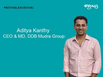 Aditya Kanthy, CEO & MD, DDB Mudra Group