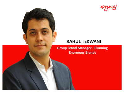 Rahul Tekwani, Group Brand Manager - Planning, Enormous Brands