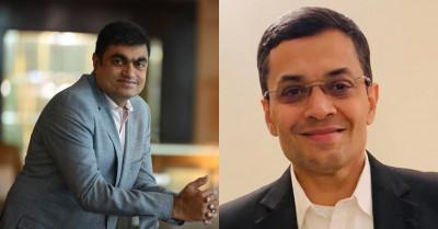 L-R: Hiren Gada; Manish Chopra