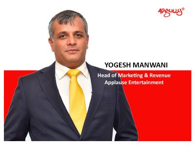 Yogesh Manwani Head of Marketing & Revenue