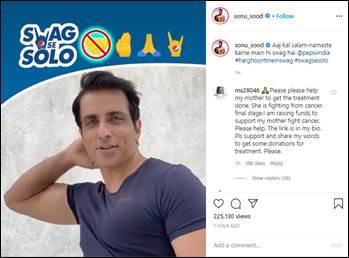 Sonu Sood Joins Pepsi Campaign, Encourages Social Distancing