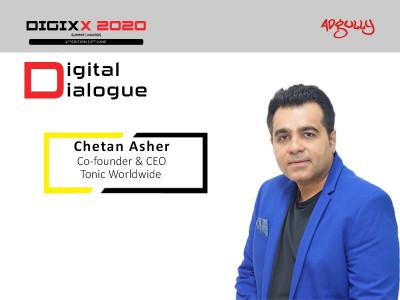 Chetan Asher, Co-founder & CEO, Tonic Worldwide