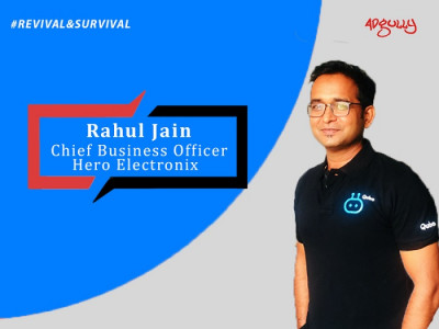 Rahul Jain, Chief Business Officer, Hero Electronix