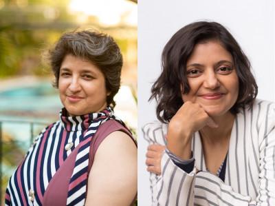 L-R: Priya Florence, Sairee Chahal