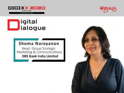 Shoma Narayanan, Head - Group Strategic Marketing & Communications, DBS Bank India