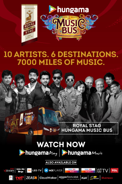 Hungama launches 'Royal Stag Hungama Music Bus'